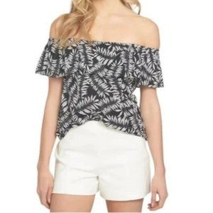 1.State Havana Off The Shoulder Black Top